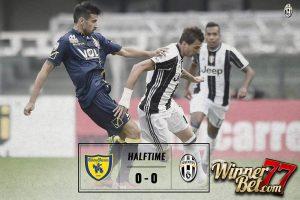 Hasil Pertandingan Chievo vs Juventus: Skor 1-2